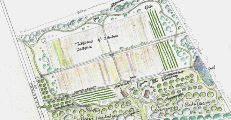 Plan voor Stadsboerderij Veldoord